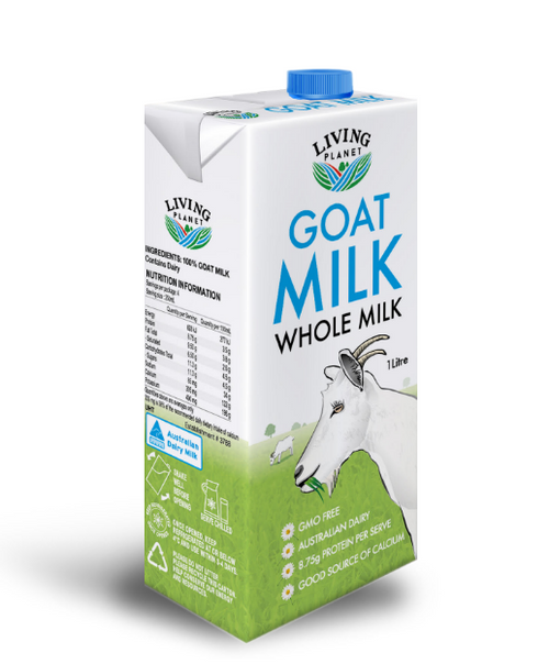 Living Planet Goat Milk UHT Natural 1L x 12