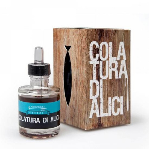Acquapazza Colatura Anchovy Juice Colatura Di Cetara Wood Aged 50ml