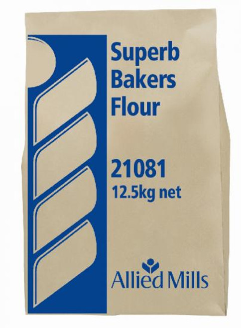 Allied Mills Flour Bakers Superb 12.5kg