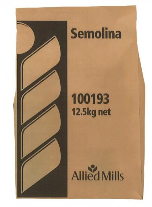 Allied Mills Flour Semolina 12.5kg