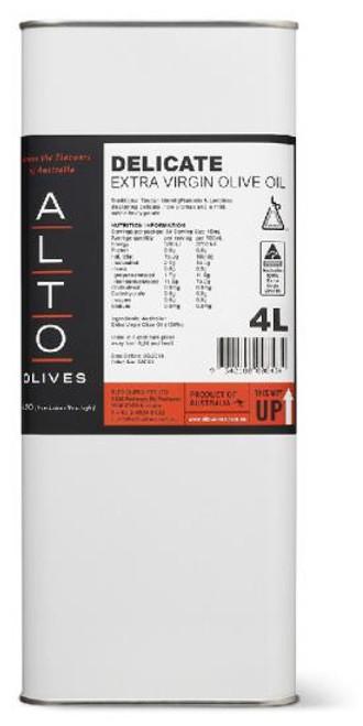 Alto Oil Olive Extra Virgin Delicate 4L