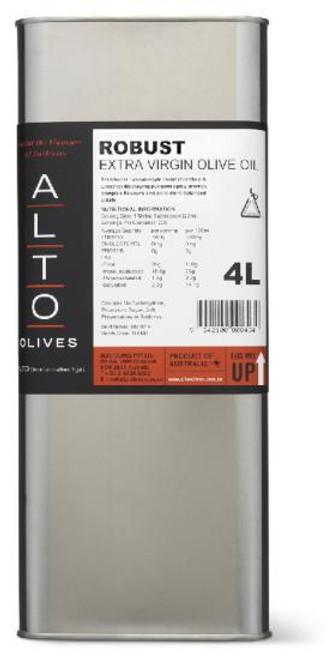 Alto Oil Olive Extra Virgin Robust 4L