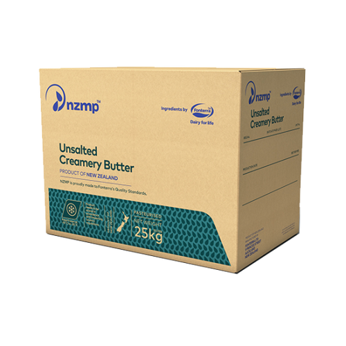 Anchor Butter Unsalted Nzmp  25kg