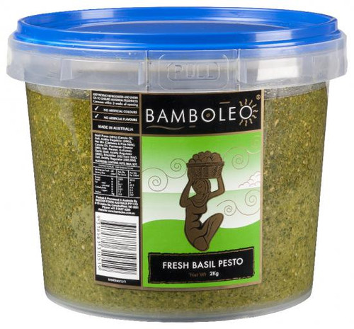 Bamboleo Paste Pesto Basil Frozen 2kg