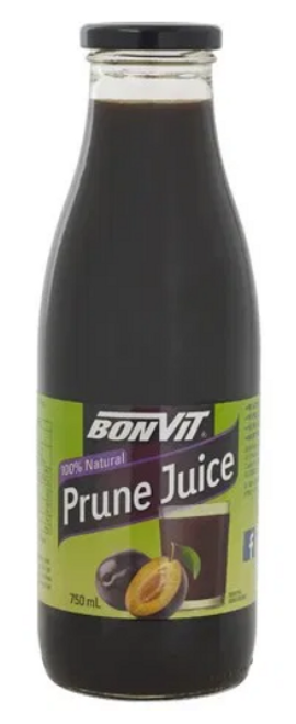 Bonvit Prune Juice Concentrate 750ml x 12