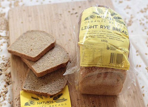 Naturis Bread Light Rye 680g