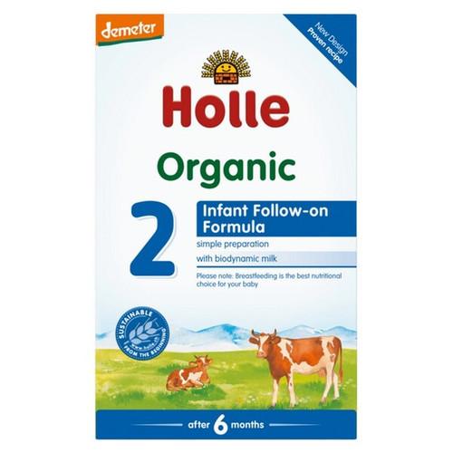 Holle Organic Infant Formula 2 600g x 2 Boxes