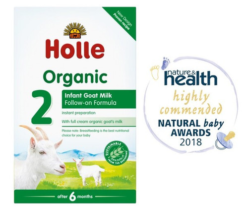 Holle Organic Goat Milk Follow-on Formula 2 400g x 2 Boxes