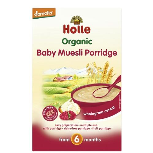 Holle Organic Baby Muesli Porridge 250g x 6 Boxes