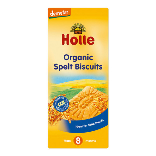 Holle Organic Baby Spelt Cookies 150g x 6 Packets