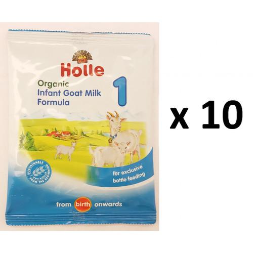Holle Organic Goat Formula 1 Sachets 20g x 15 Satchets