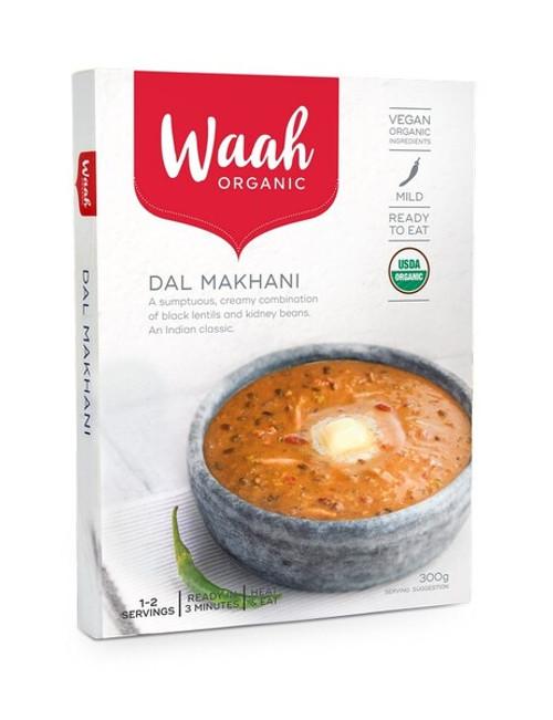 Waah Organic Dal Makhani 300g x 6 Packets ( Back in Stock 21/12/2020)
