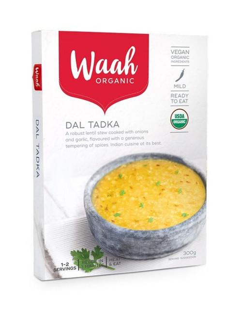 Waah Organic Dal Tadka 300g x 6 Packets ( Back in Stock 21/12/2020)