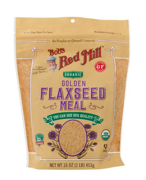 Bob's Red Mill Organic Gluten Free Flaxseed Meal 453g  x 4 Packets