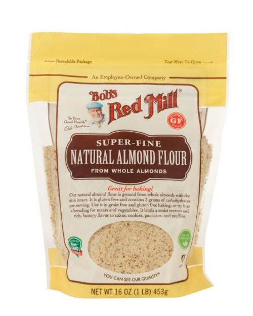 Bob's Red Mill Almond Flour Natural Gluten Free 453g  x 4 Packets