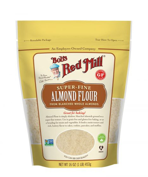 Bob's Red Mill Almond Flour Blanched Gluten Free 453g  x 4 Packets