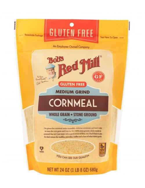 Bob's Red Mill Gluten Free Cornmeal 680g  x 4 Packets