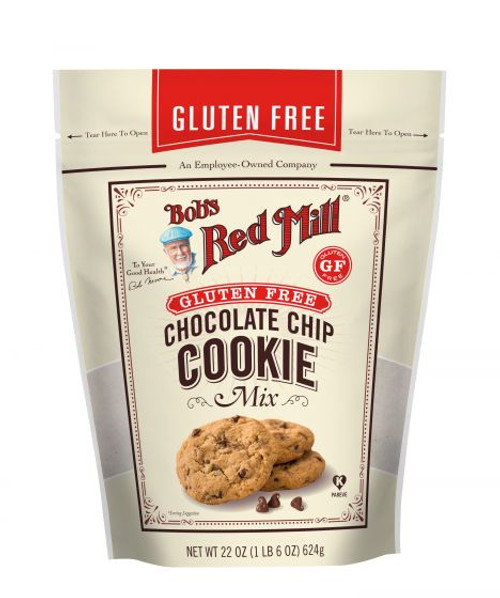 Bob's Red Mill Gluten Free Choc Chip Cookie Mix 623g x 4 Packets