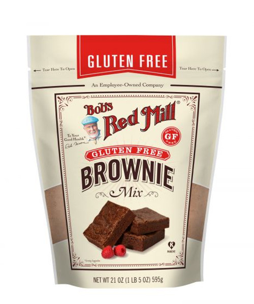 Bob's Red Mill Gluten Free Brownie Mix 595g x 4 Packets