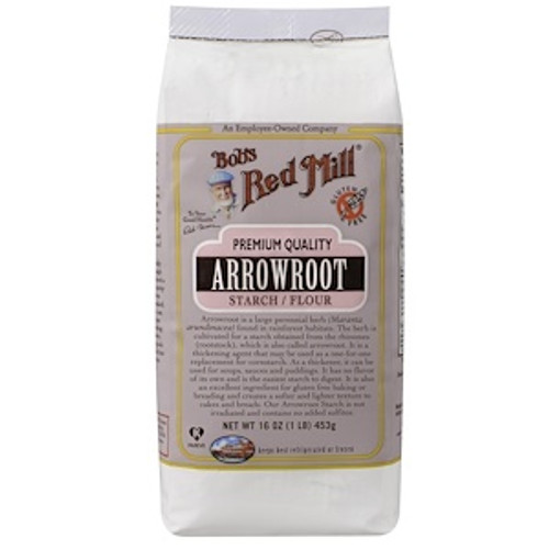 Bob's Red Mill Arrowroot Starch 453g  x 4 Packets  (Back in Stock 09/11/2020)
