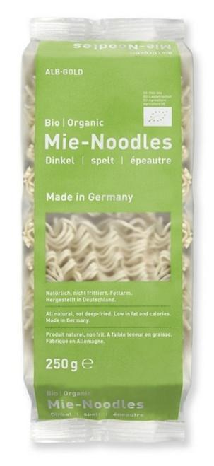Alb-Gold Organic Spelt Mie Noodles 250g x 6 Packets