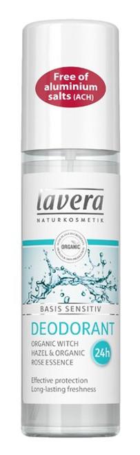 Lavera Basis Deodorant - Spray 75ml