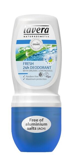 Lavera Deodorant Roll On - Fresh 50ml