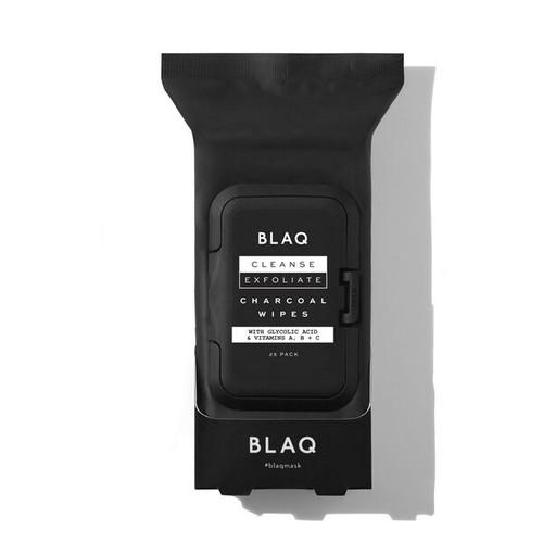 Blaq Cleanse & Exfoliates Charcoal Wipes 25pk