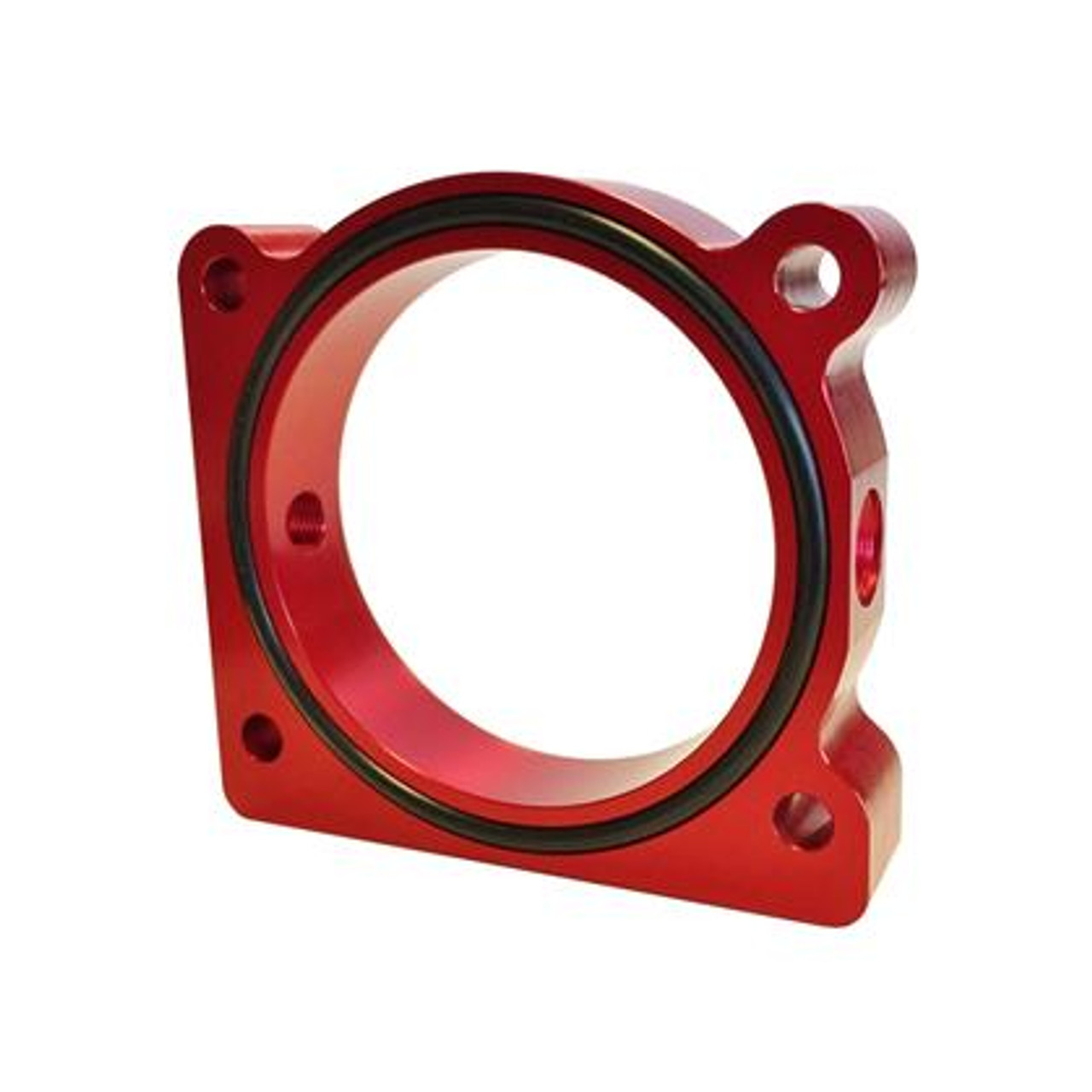 Throttle Body Spacer Black Fits Ford Focus ST 2013 by Torque Solution