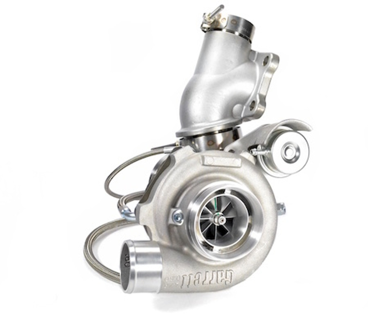 GEN2 - GTX2867R Bolt-On Turbo for the 2 0L EcoBoost Focus ST / Fusion- w/   64 A/R Turbine Side