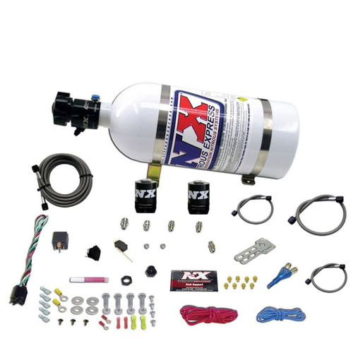 Nitrous Express All Ford EFI Single Nozzle System (35-150HP) With 10Lb Bottle