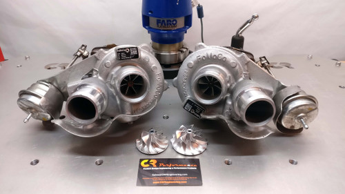CR Performance 2013-2016 F150 3.5 Ecoboost Stage 3 42mm Upgrade Turbo Set