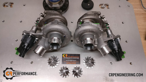 CR Performance 2017 F150 3.5 Ecoboost Stage 3 42mm Upgrade Turbo Set