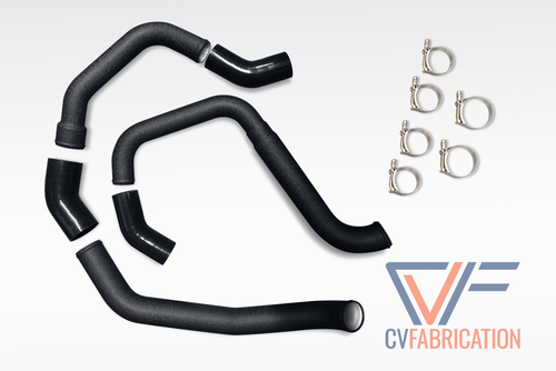 CVF Aluminum Intercooler Hot-side + Cold-side Piping Kit (2015+ Ford F-150 3.5L EcoBoost)