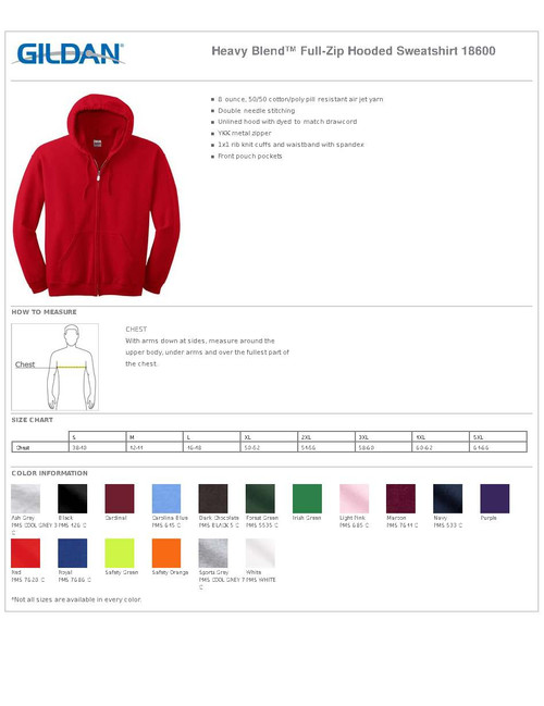 NEURO-18600 Full Zip Hooded Sweatshirt 8