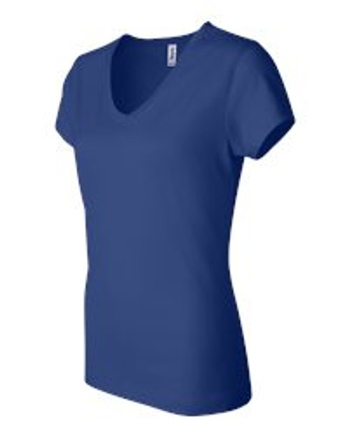 PNQL Bella - Ladies' Short Sleeve V-Neck T-Shirt