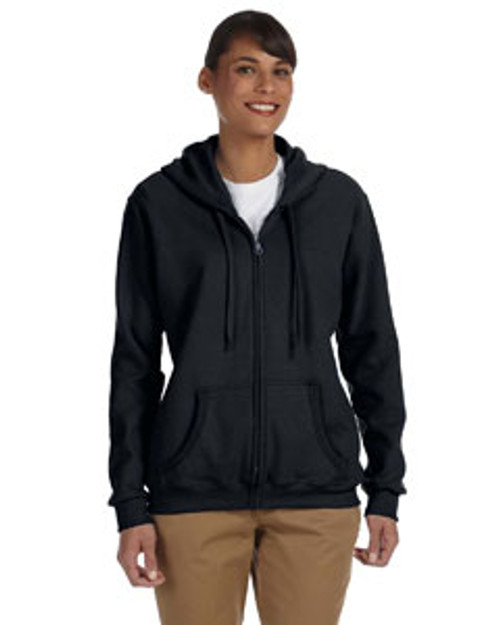 PNQL Full Zip Hooded Sweatshirt-Ladies Fit