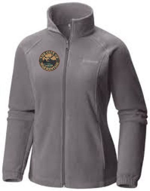 WAR-6439 Columbia Ladies' Benton Springs™ Full-Zip Fleece
