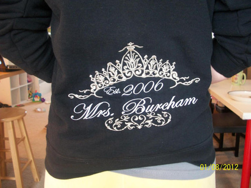 Wedding Sweatshirt