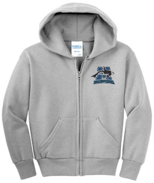 MARPTSA-18600-PC90ZH Full Zip Hooded Sweatshirt