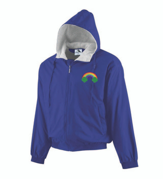 WDR-JP56 EMBROIDERED Hooded Adult and Youth Jacket