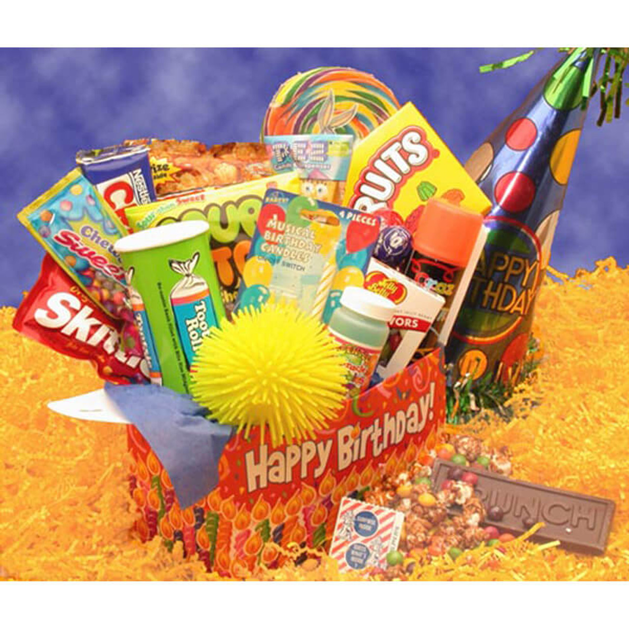 Birthday Gift Baskets Deluxe Happy Care Package