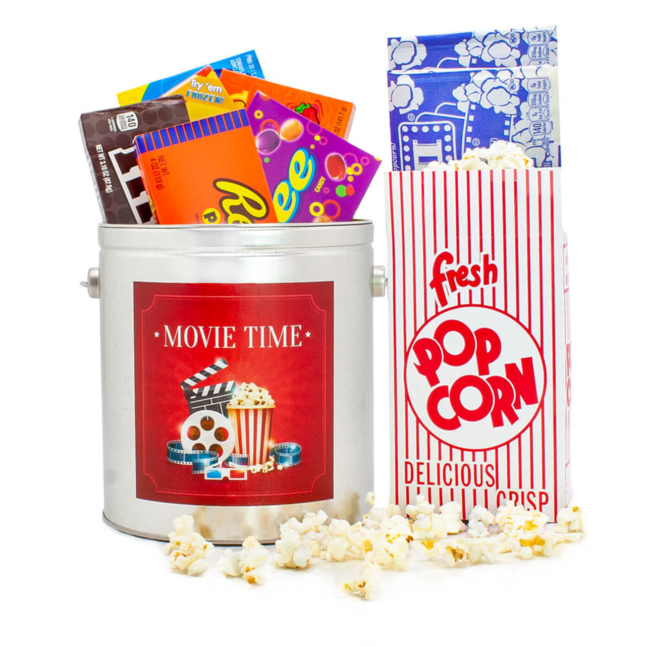 Movie Time Gift Pail