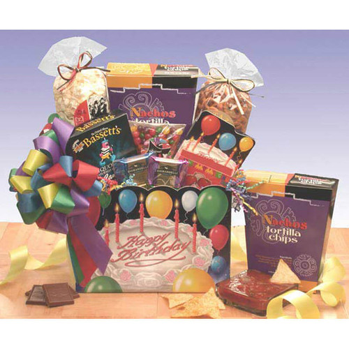 Happy Birthday Gift Box | Birthday Gift Baskets