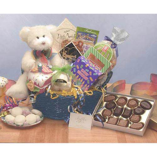 Have A Beary Happy Birthday Gift Basket   Birthday Gift Baskets