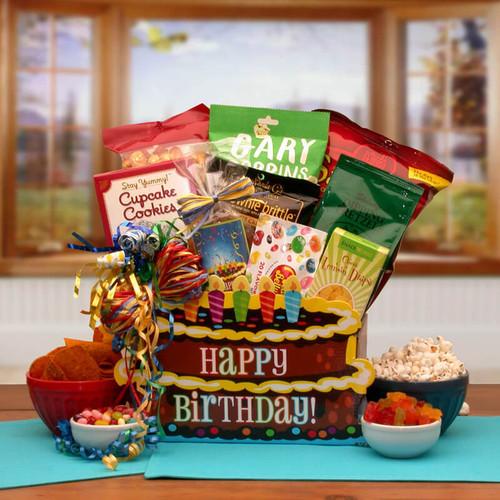 You Take The Cake Birthday Gift Box | Birthday Gift Baskets