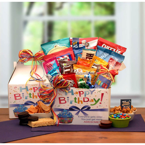 Make A Wish Birthday Care Package | Birthday Gift Baskets