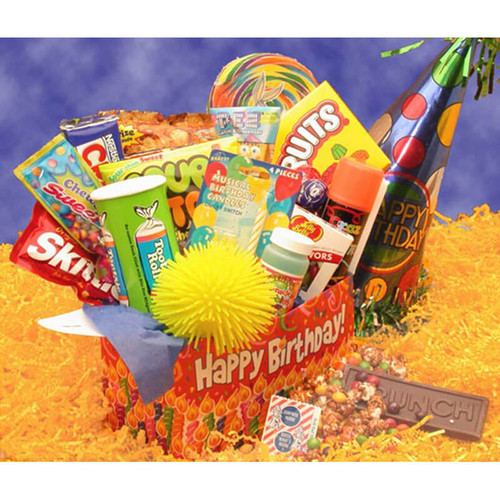 Deluxe Happy Birthday Care Package   Birthday Care Packages