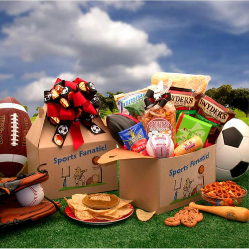 The Sports Fanatic Care Package | Football Gift Baskets