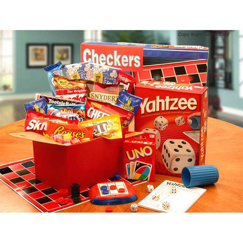 Its Game Time Boredom & Stress Relief Gift Set| College Care Package